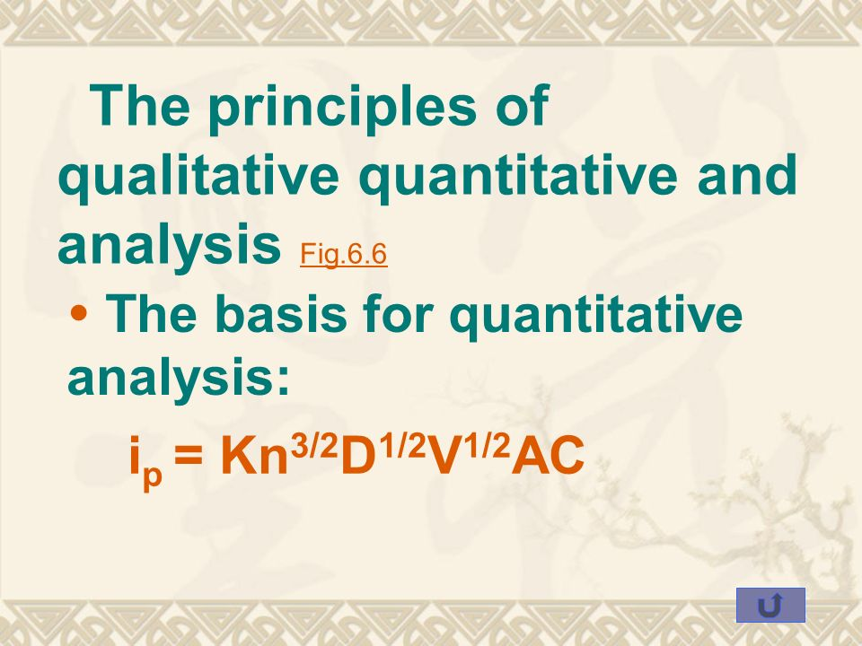 principles of quantitative methods Social science research: principles, methods, and practices anol bhattacherjee university of south florida, abhatt@usfedu 14 quantitative analysis.