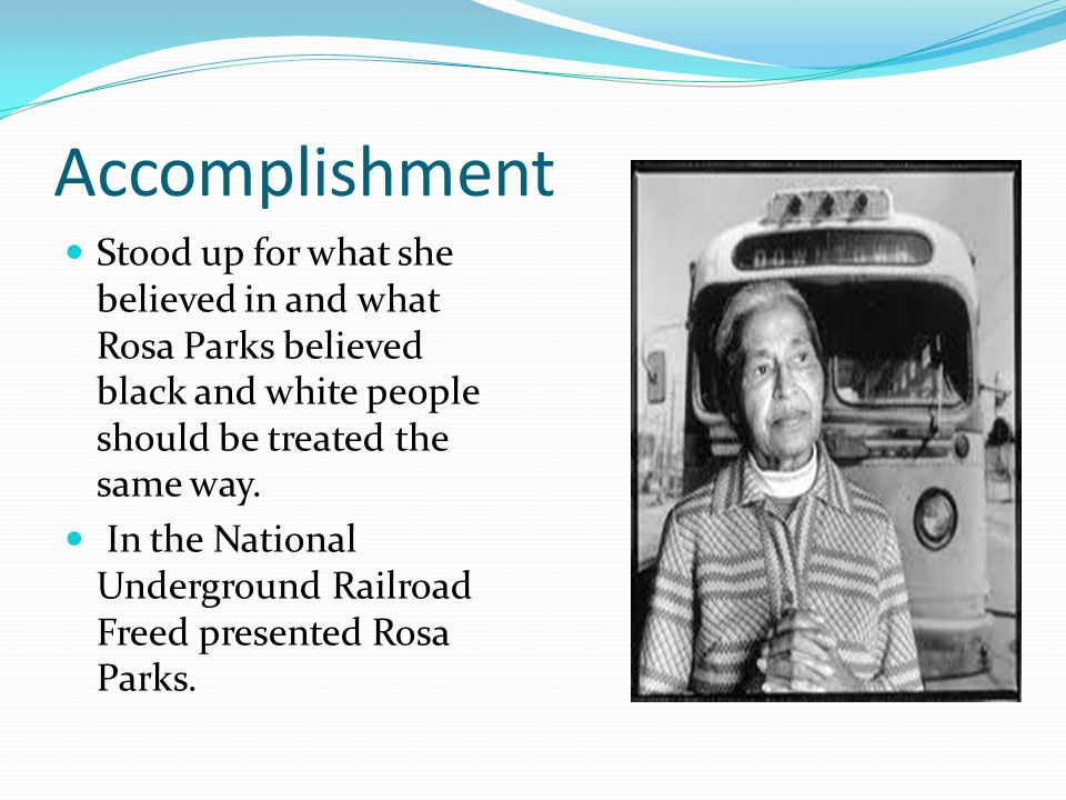 the life and role of rosa parks Rosa parks was born in tuskegee rosa distinguished the institute for self development for young people role of chemistry in domestic activities.