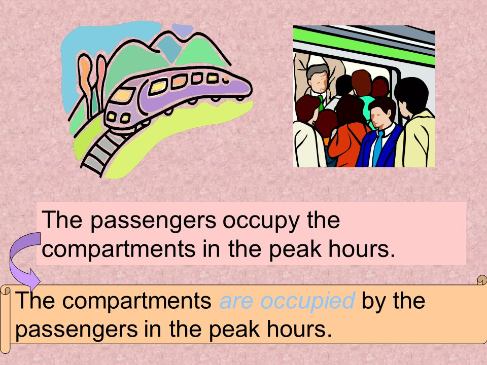 The passengers occupy the compartments in the peak hours.