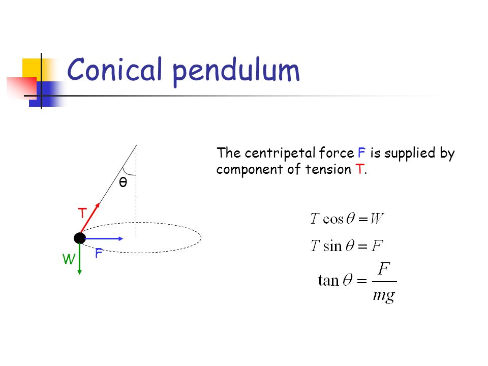 centripetal force on a pendulum Search in excerpt  filter by custom post type.
