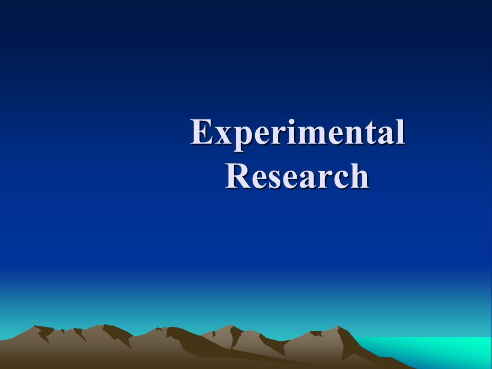 human experimentation in research