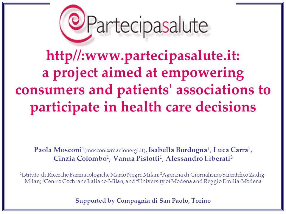 Supported by Compagnia di San Paolo, Torino