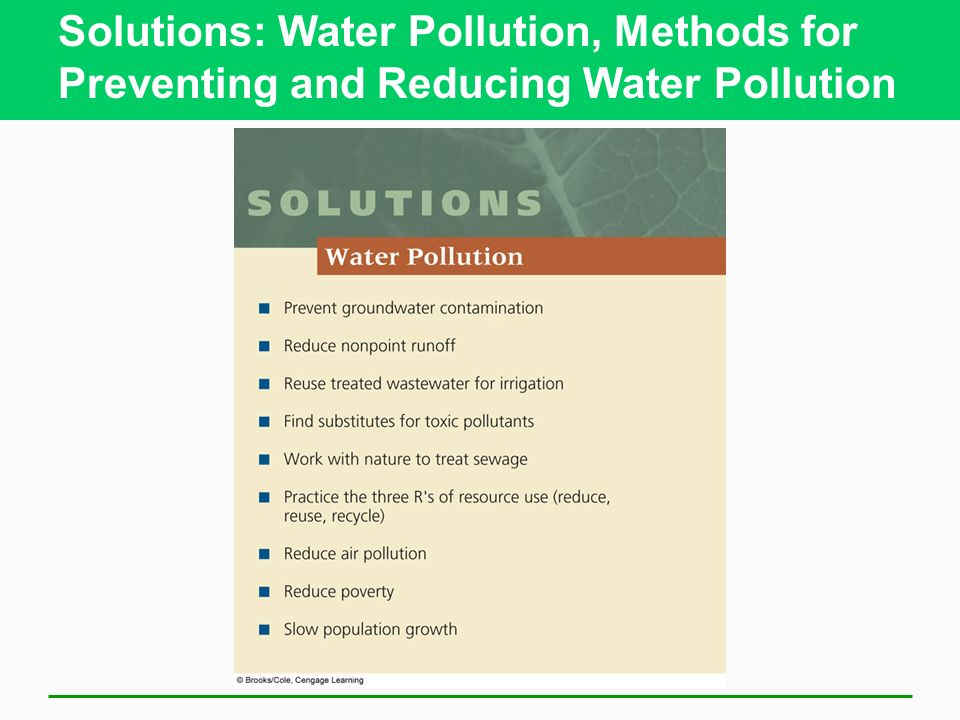 solutions to water pollution In order to combat water pollution, we must understand the problems and  become part of the solution keywords: water pollution, sustainability, earth,  oxygen all.