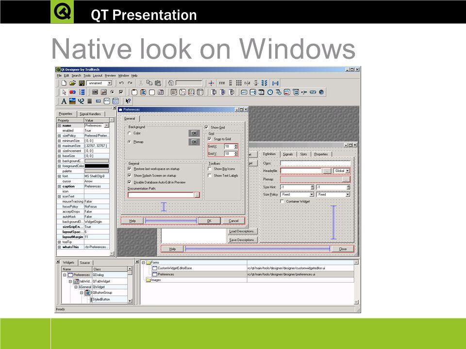 Cross platform c development using qt ppt video for Online window design tool