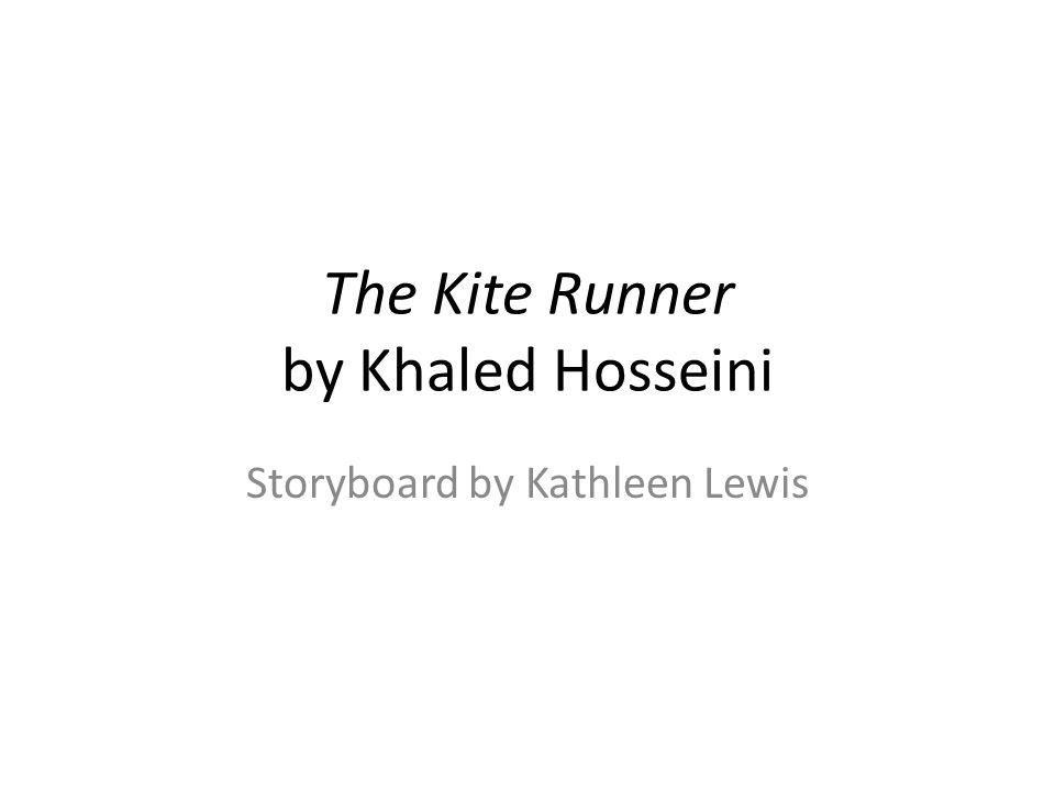 summary the kite runner by khaled Book - the kite runner, by khaled hosseini summary the kite runner written by khaled hosseini is a story full of love, loss and journeys of a man accompanied by the constant look for redemption.