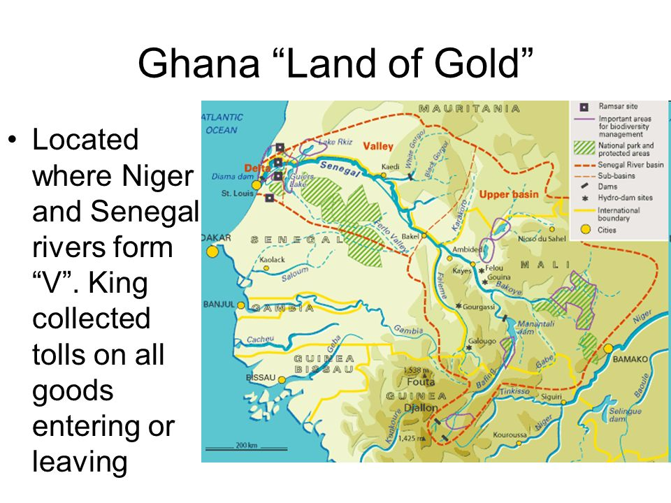 Map Of Ancient Africa Ghana Medieval Africa Ghana Ancient Mali - Where is ghana located