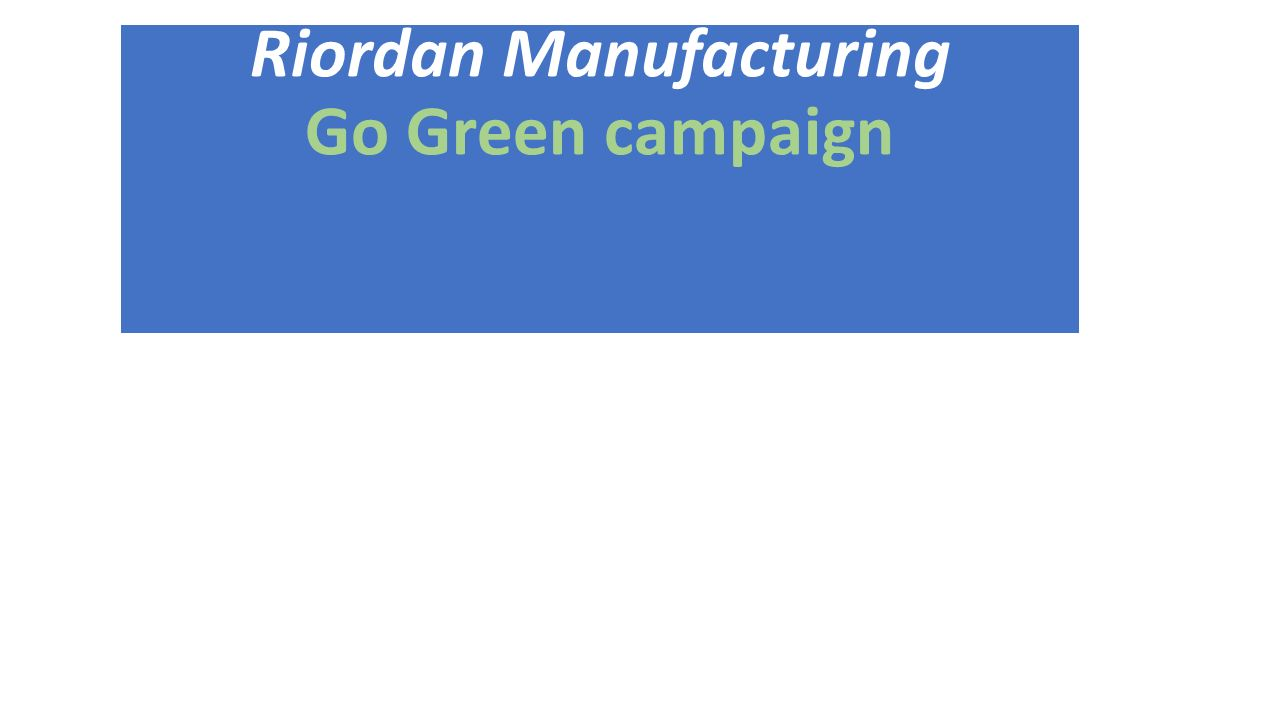 riordan manufacturing project Our projects and success stories  contract development and manufacturing the riordan company is presently acting as a contract developer and manufacturer of fire .