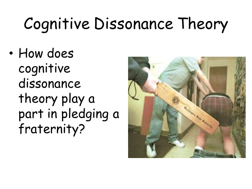 cognitive dissonance theory paper View and download cognitive dissonance essays examples also discover topics, titles, outlines, thesis statements, and conclusions for your cognitive dissonance essay.
