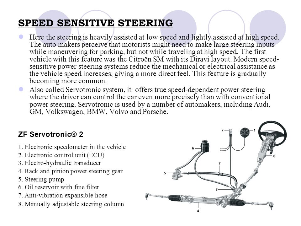 Automotive Steering Systems Ppt Video Online Download