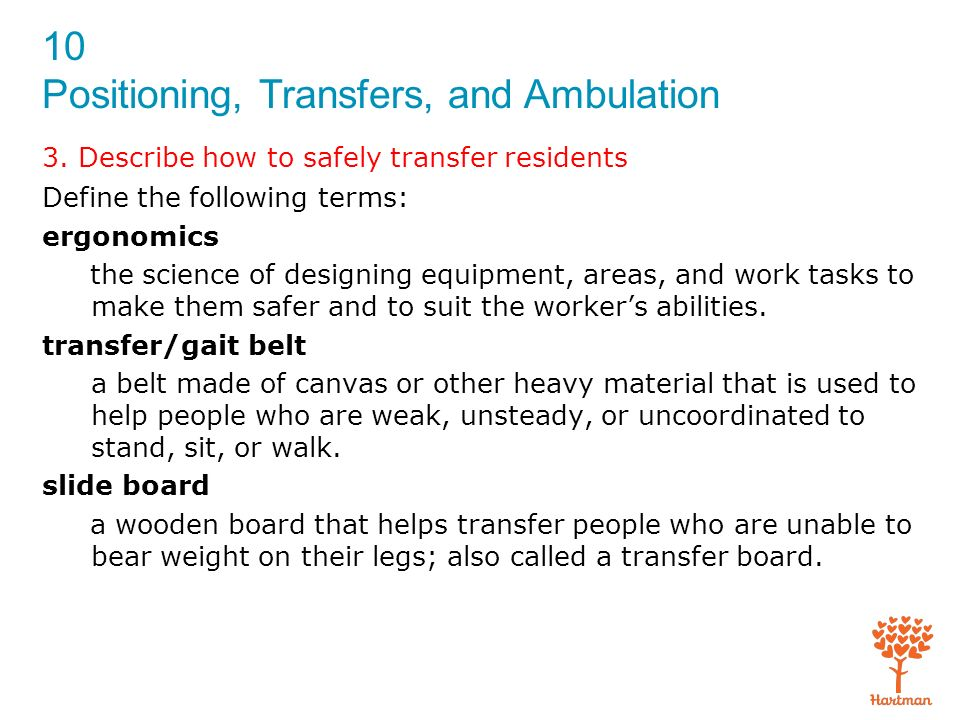 1. Review the principles of body mechanics - ppt download