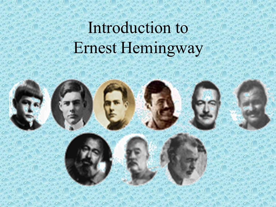 an introduction to the life of grace hemingway Bryant mangum, ernest hemingway, in critical clarence edmonds hemingway, and grace scott by force of will: the life and art of ernest hemingway.