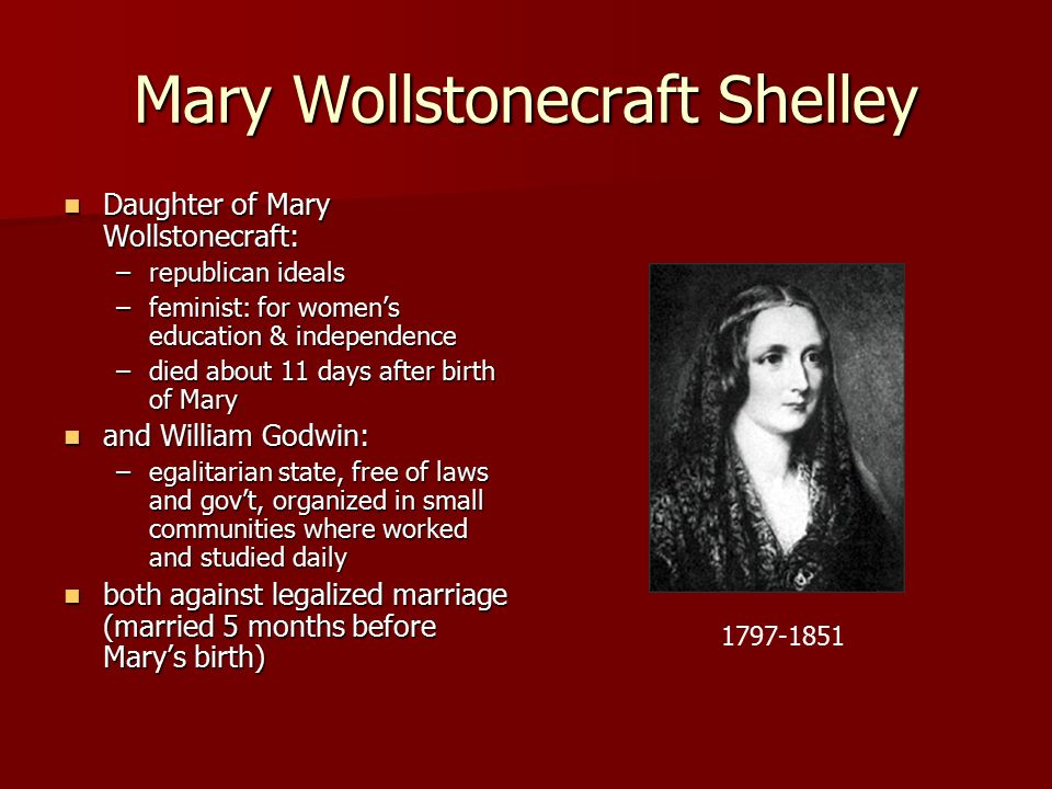 mary wollstonecraft shelley ppt  mary wollstonecraft shelley