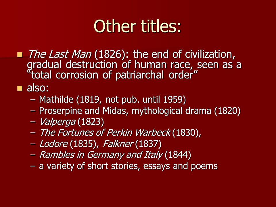 the last man mary shelley pdf