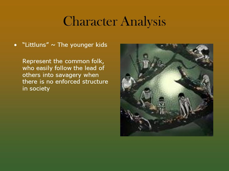 life civilization and flies character analysis Symbolism in william golding's lord of the flies  a character from lord of the flies the novel narrates the story of a group of british children who are stranded .