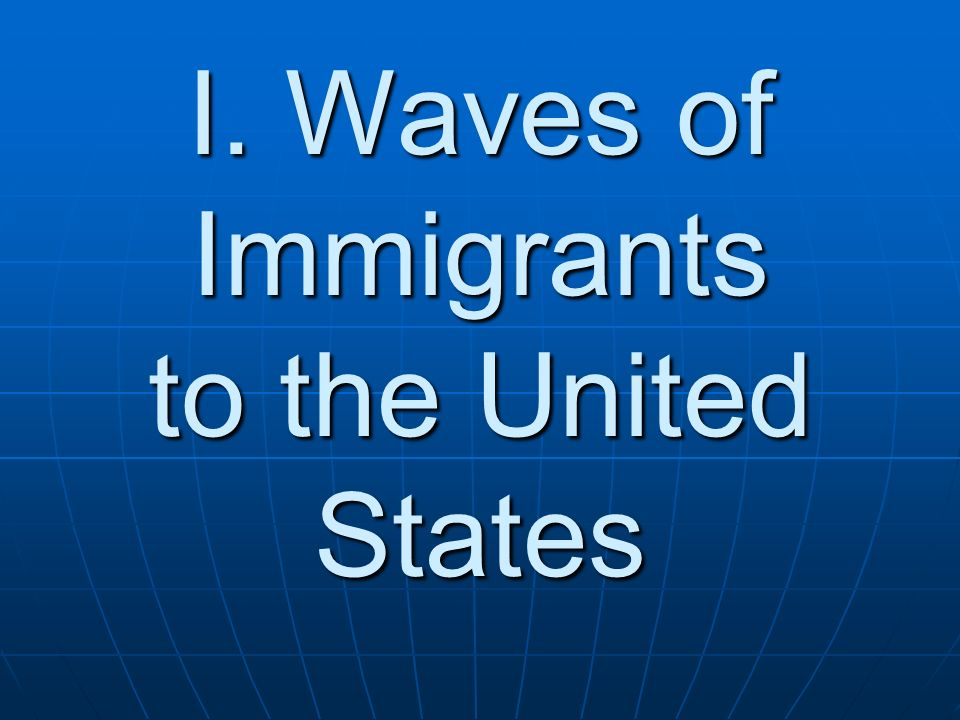 an introduction to the immigrants in the united states Introduction from 1882 to 1943 the united states government severely curtailed  immigration from china to the united states.