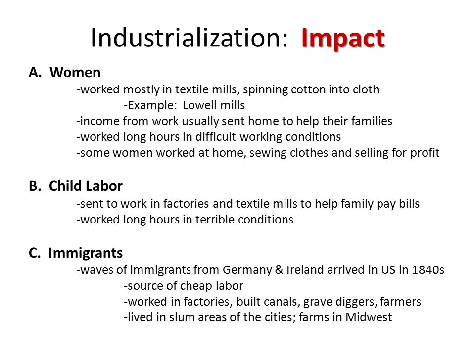 the effects of cheap labor on