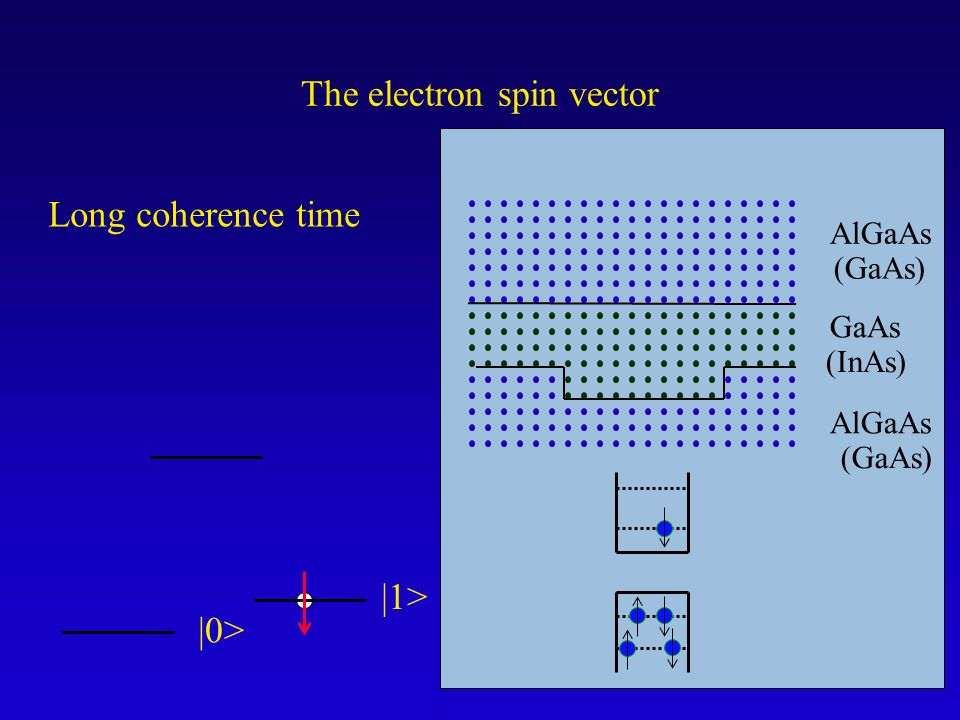 The electron spin vector