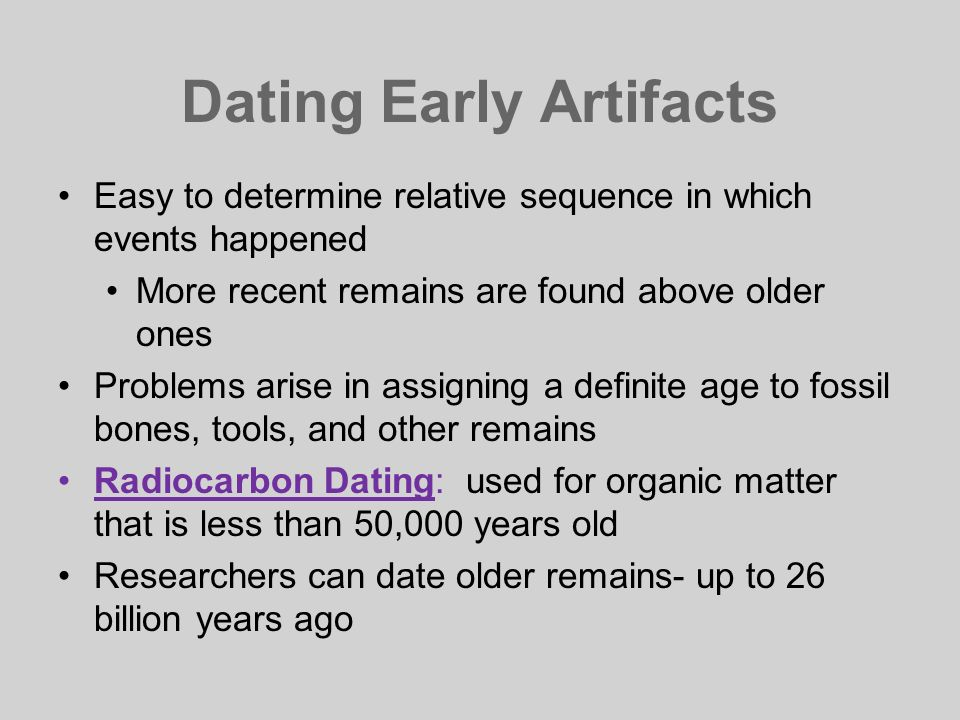 For how many years can radiocarbon hookup be used to date an artifact