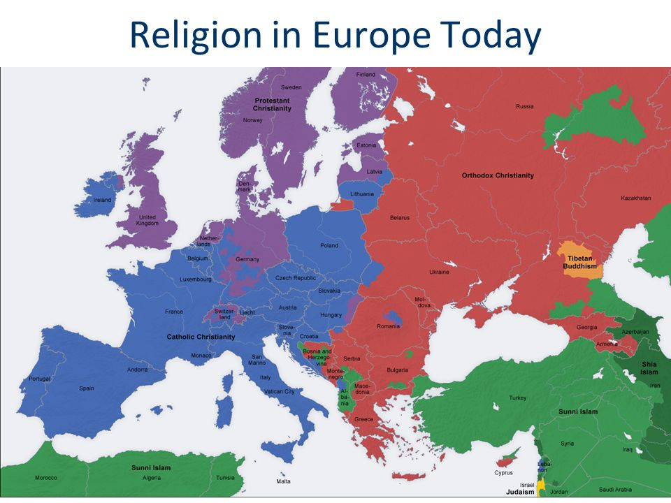 Religion in Europe Today