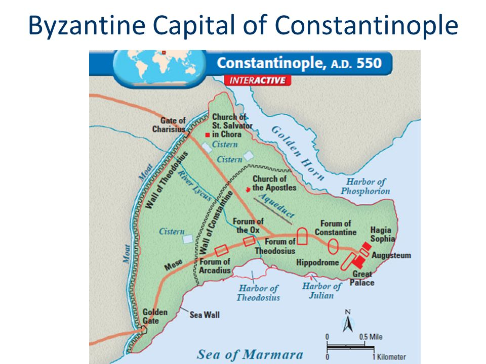 Byzantine Capital of Constantinople