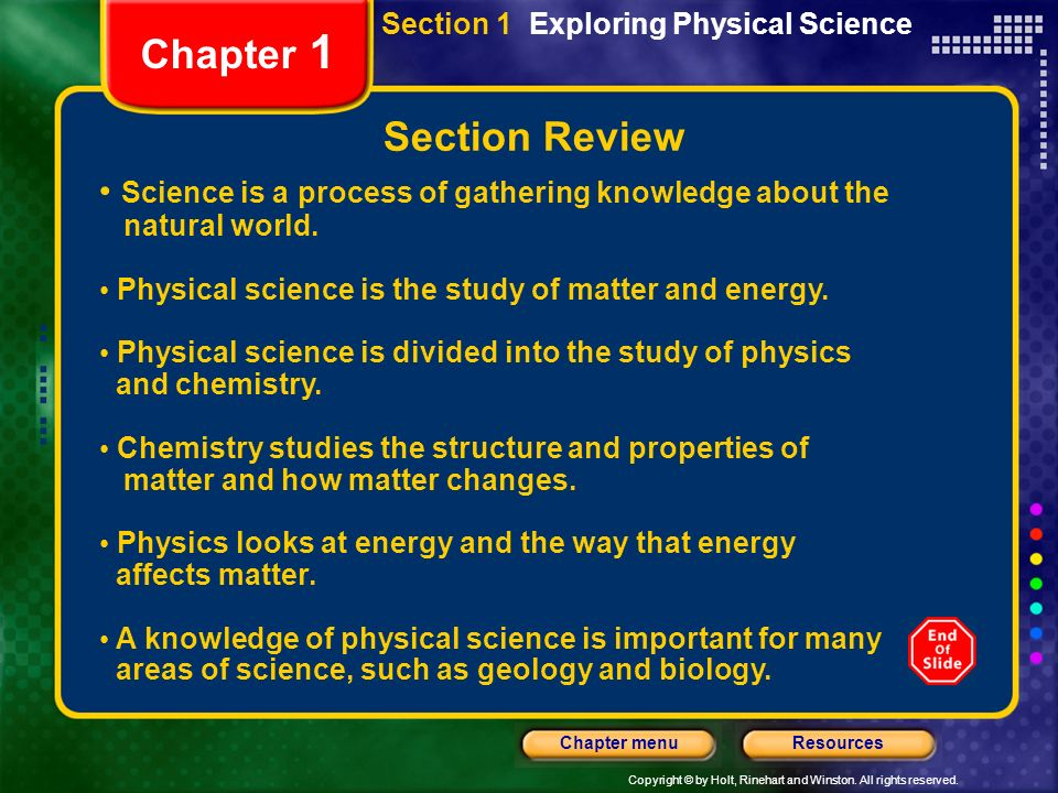the natural science of biology as a way of knowing Unlike art, philosophy, religion and other ways of knowing, science is based on empirical research a scientist conducts this research to answer a question that she or he has about the natural world empirical research relies on systematic observation and experimentation, not on opinions and feelings.