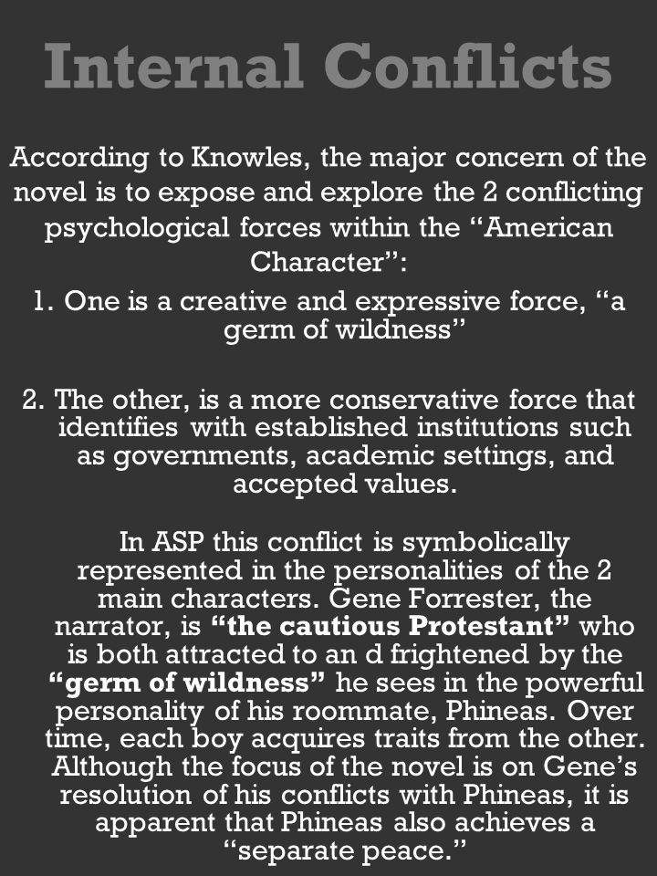 The Character Of Gene Forester In The Novel In A Separate Peace By  Knowles A Separate Peace Essays Grant Writing Services Michigan also Essay On Health Awareness  High School Entrance Essays