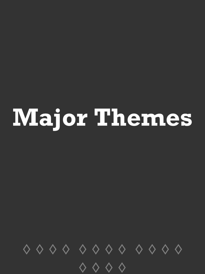 The major ideas themes and conflicts in 1984