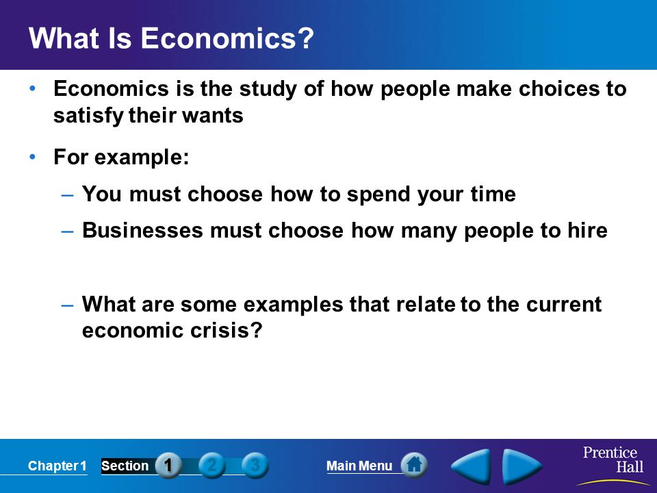 what is economics and how will Significance consumption is the value of goods and services bought by peopleindividual buying acts are aggregated over time and space consumption is normally the largest gdp component.