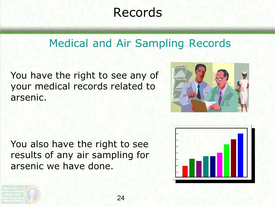 Medical and Air Sampling Records