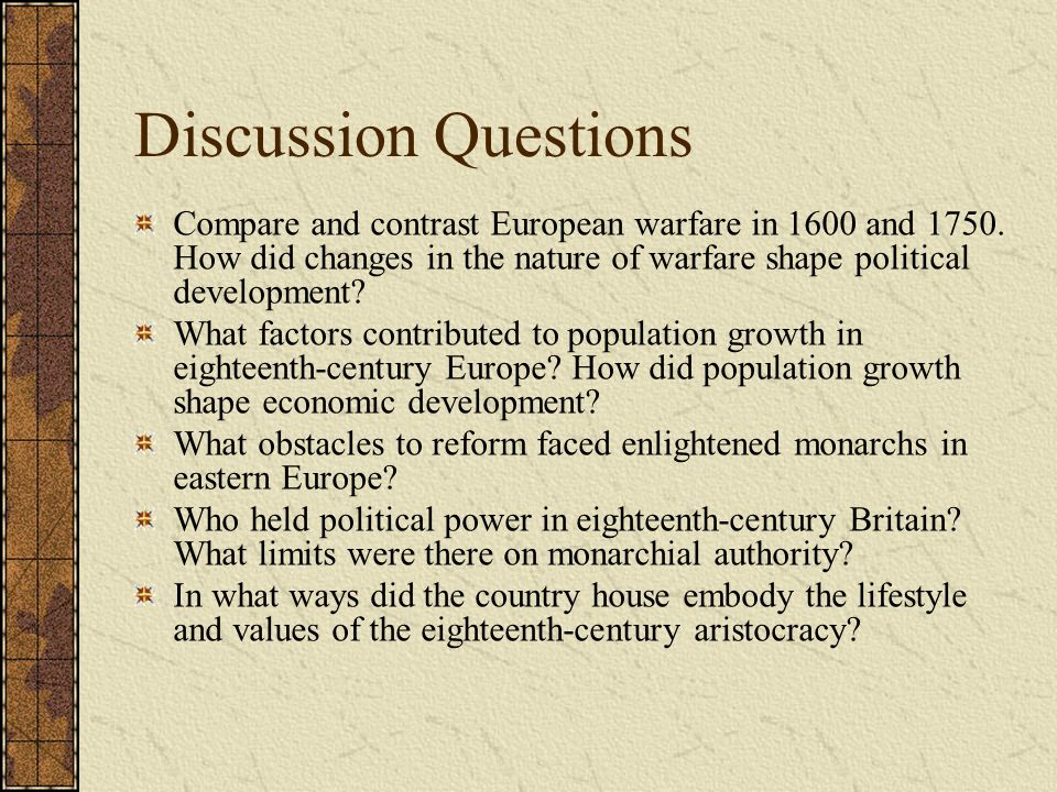 did the development in european warfare Western society and eastern europe in the decades of the  of the cold war, while european powers devoted less of their budgets to arming  cultural development.