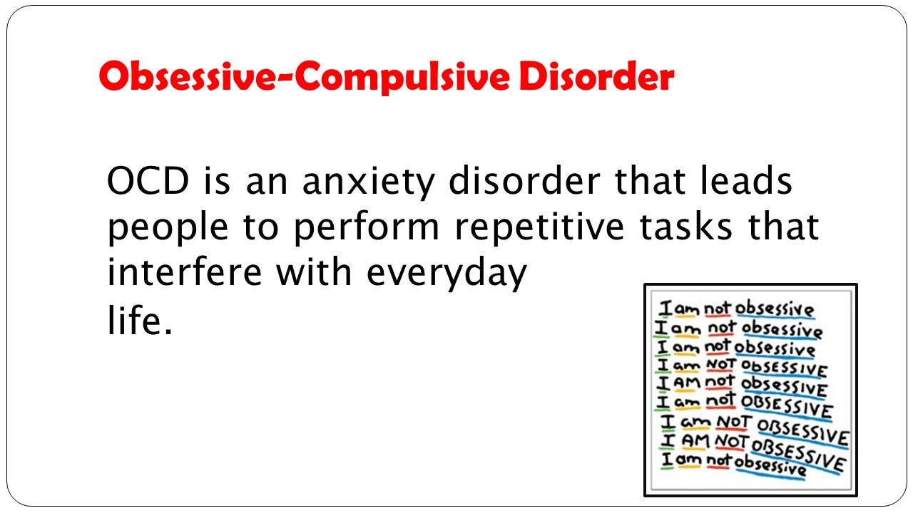 identifying symptoms of obsessive compulsive disorder Obsessive-compulsive disorder is also not the same thing as being a  your  browser does not currently recognize any of the video formats available.