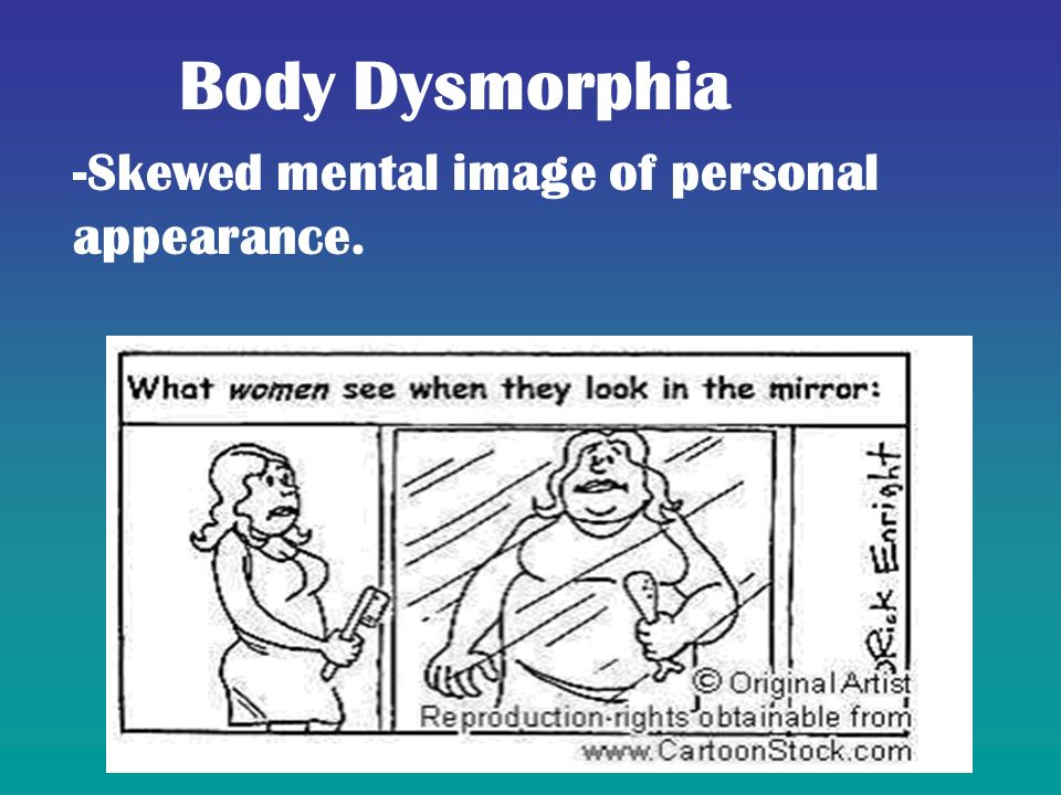 the social view of muscle dysmorphia Body dysmorphic disorder (bdd) social factors such as the societal concentration on appearance and perfection and the cultural beauty ideal contribute to the formation of bdd in an individual muscle dysmorphia & body image in men.