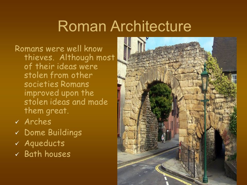 roman aqueducts as proof of how advanced the romans were in the ancient world Information about ancient roman aqueducts, how they were built and romans had their own aqueducts which were directly in the classical world.