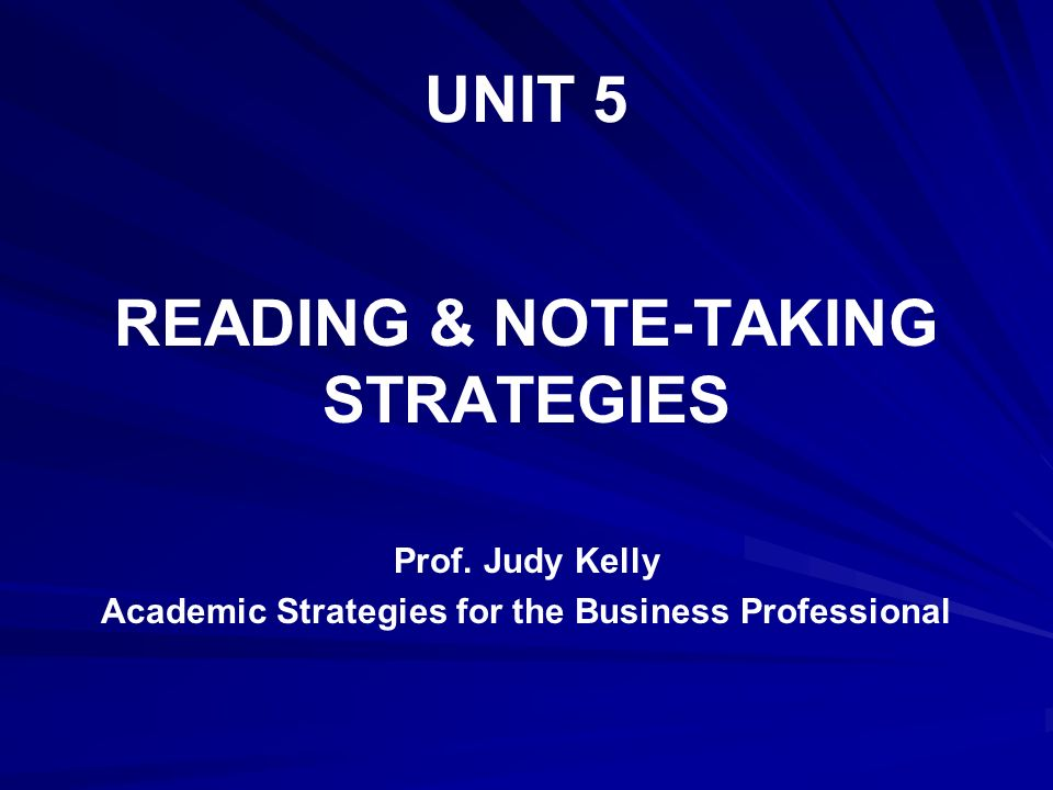 academic strategies for the business professional Business models, business strategy and innovation david j teece whenever a business enterprise is established, it either explicitly or implicitly employs.
