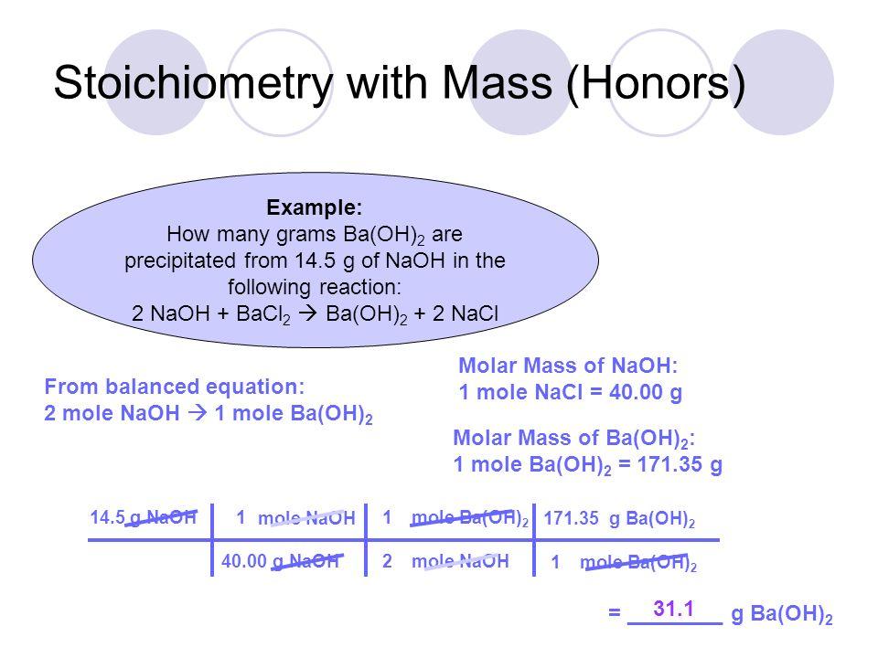 labpaq stoichiometry of a precipitation reaction