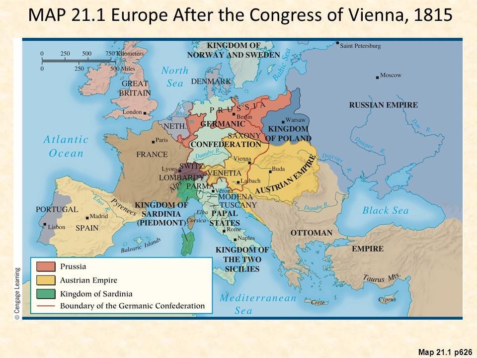 Reaction revolution and romanticism 1815 ppt video online download 3 map sciox Choice Image