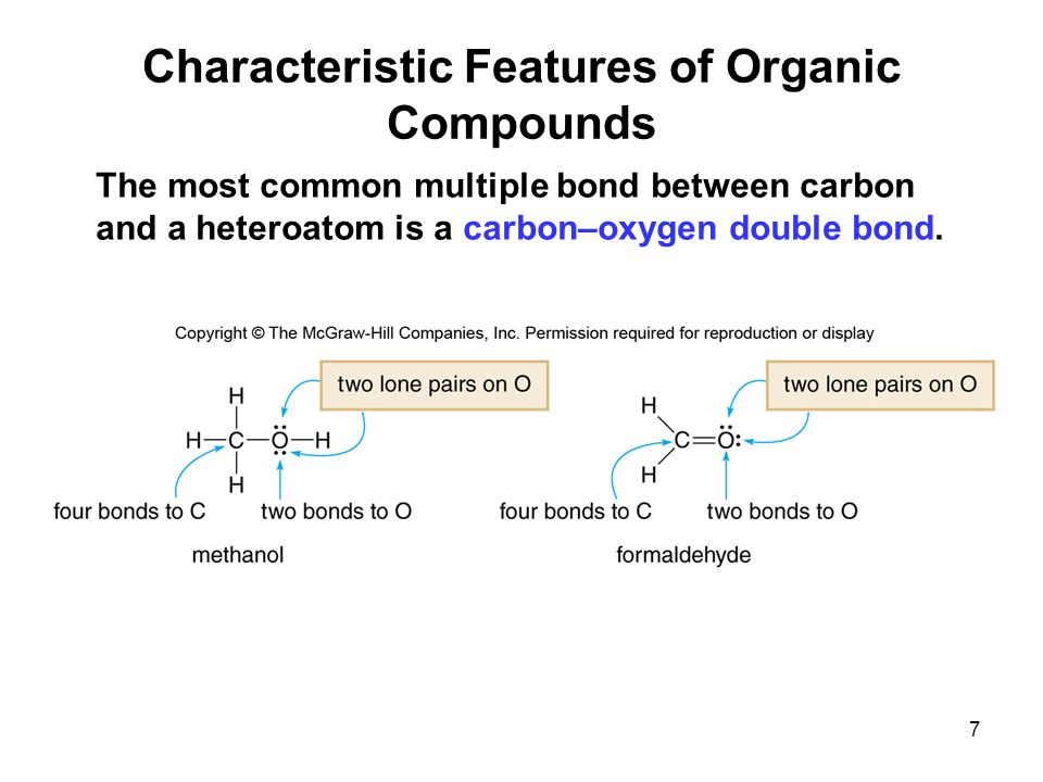 characteristic of organic compounds essay This paper provides details in extraction, isolation and characterization of bioactive compound from plants extract with common phytochemical screening assay, chromatographic techniques, such as hplc, and hplc/ms and fourier transform mass spectrometry (ftms.