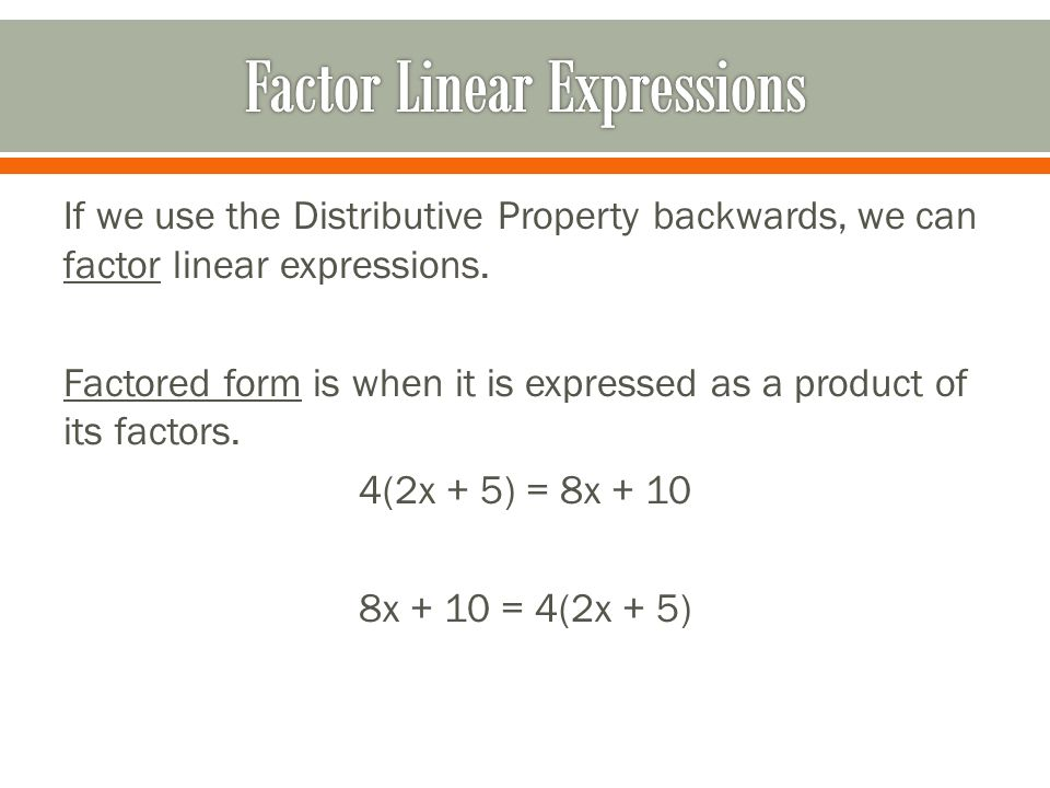 Algebraic Expressions - ppt download