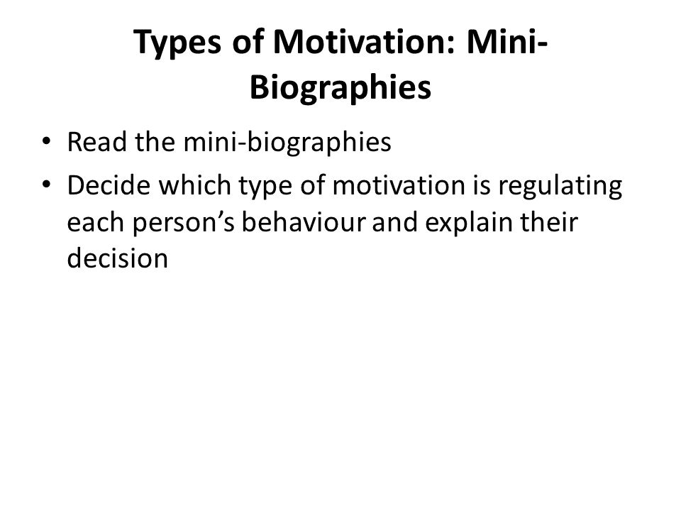 explain your motivation and decision to Motivation, creativity and innovation in individuals, and their relationship to group and team dynamics understanding individuals: motivation, creativity and.