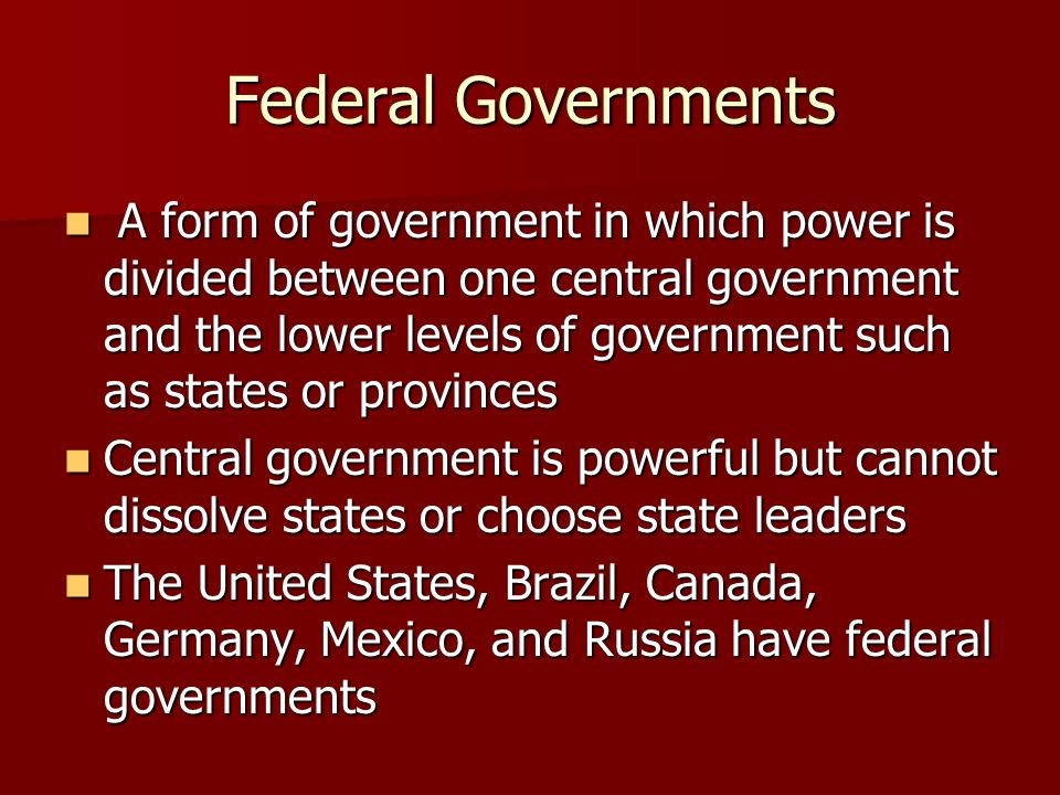 a comparison of the federal government of mexico and the unitary government of france Is france unitary or federal what is france government unitary confederation or federal is kazakhstan a federal or unitary government neither one edit.