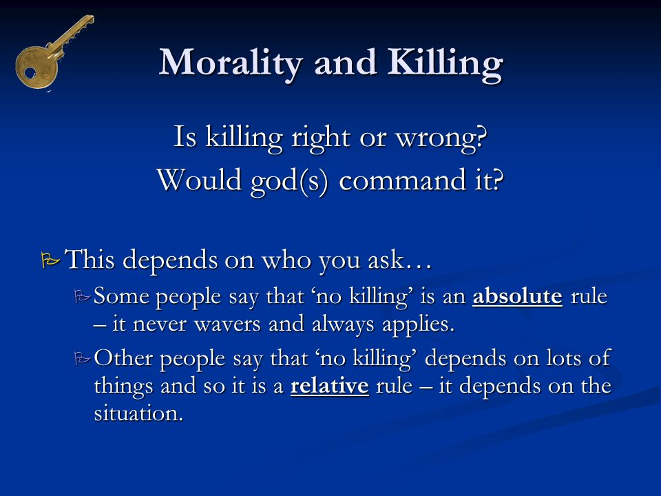 is all murder morally wrong The queen versuse dudley and stephens  they would not think that it is morally wrong by eating  i think that murder is considered as fundamentally wrong,.
