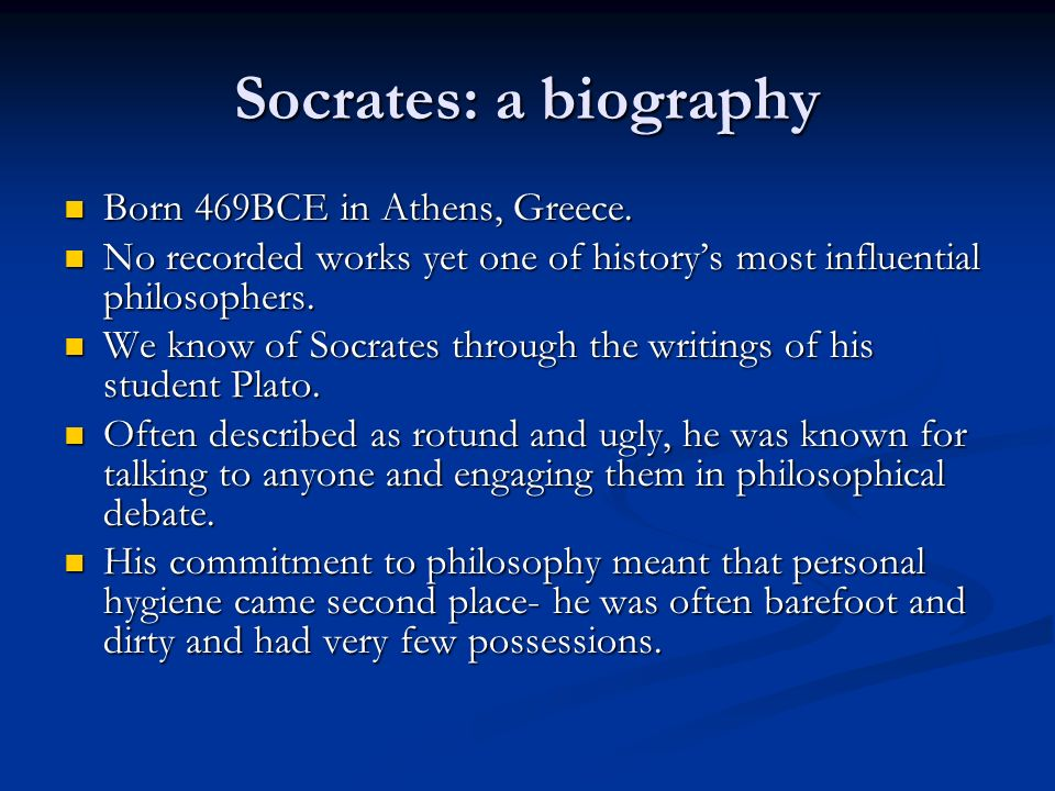 a comparison between the philosophies of socrates and euthyphro These dialogues contain the core concepts of platonic philosophy and serve as a good introduction to the legacy of socrates and philosophy in the golden age of greece in the first of the dialogues euthyphro and socrates discuss and try to define allegiance.