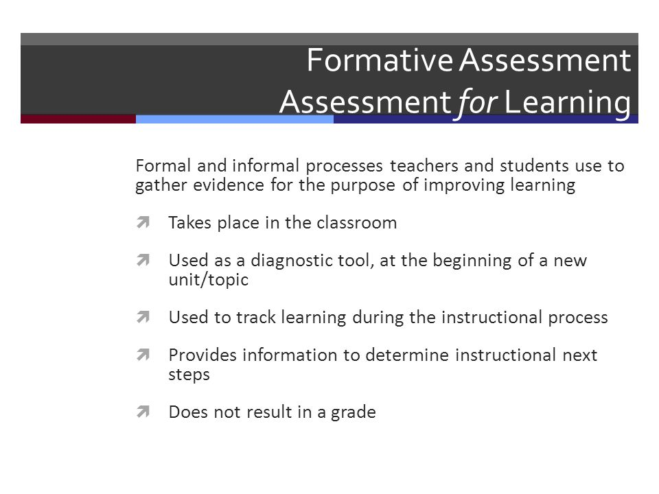 Formative Assessment And Effective Feedback At Manor Lakes College
