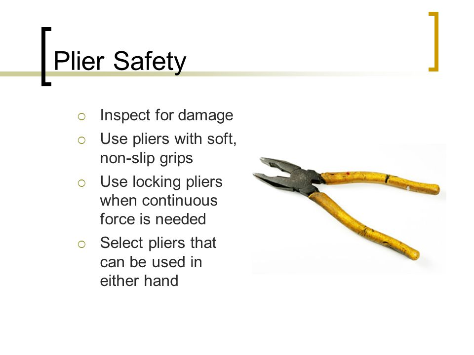 Hand Tool Safety Slide Show Notes Ppt Video Online Download