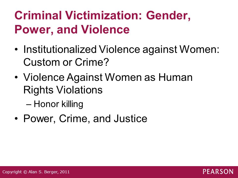 nature and extent of violent crime Prevention, and the office for victims of crime centers for  violence  against women (nvaw) survey on the extent, nature, and consequences of inti.