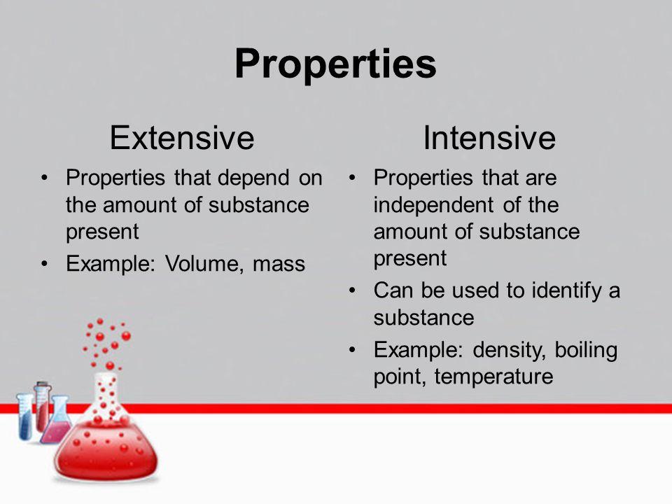 properties of substances