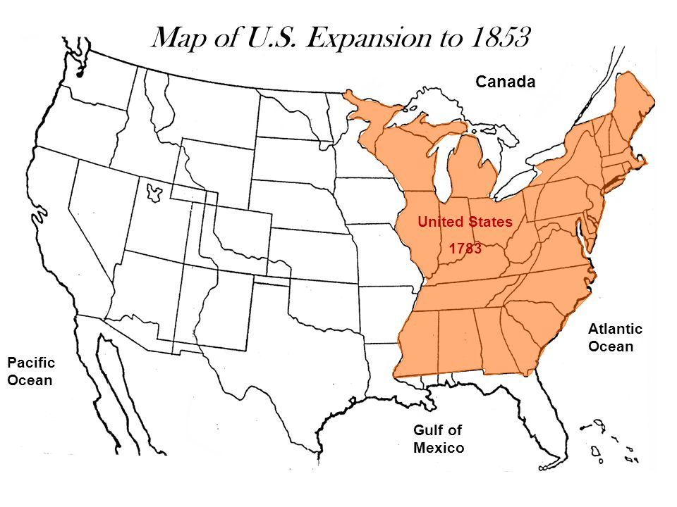 2 Map Of U S Expansion