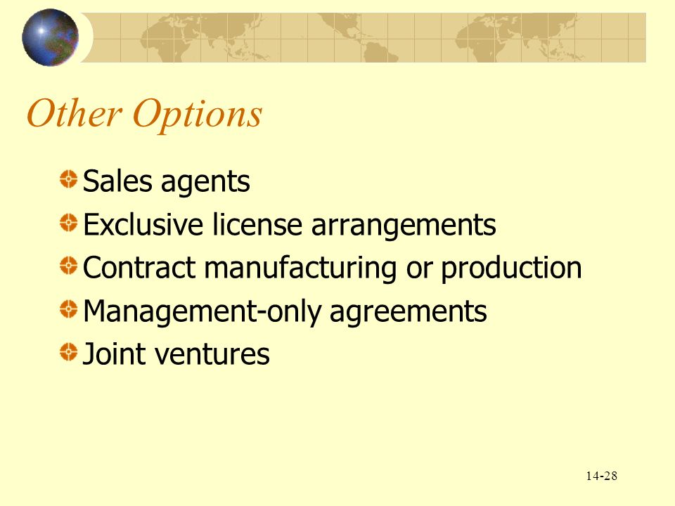 Chapter 14 Global Marketing Communications Decisions Ii: Sales