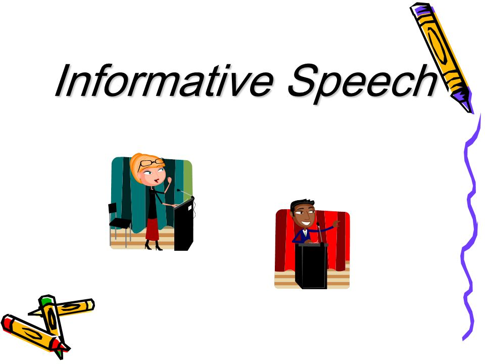 Informative Speech. - Ppt Download