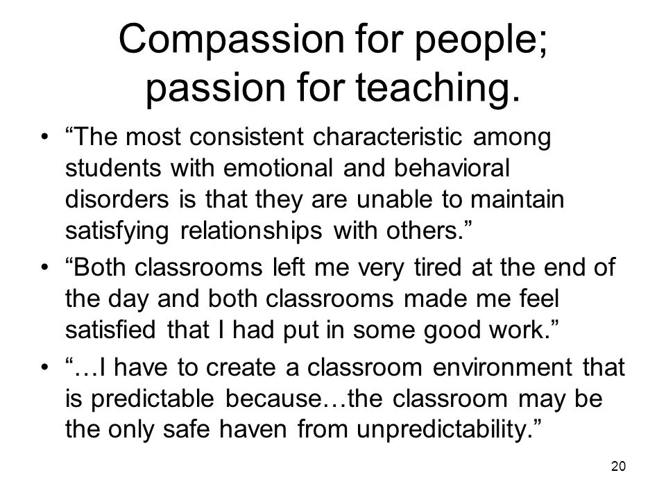 Classroom Design For Students With Emotional And Behavioral Disorders ~ Educating exceptional learners ppt download